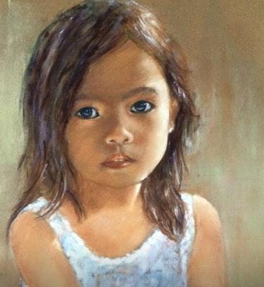 Petite fille vietnamienne. Résy