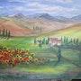 Paysage Toscana. Rita Kohl-Nebel