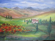 Paysage Toscana.