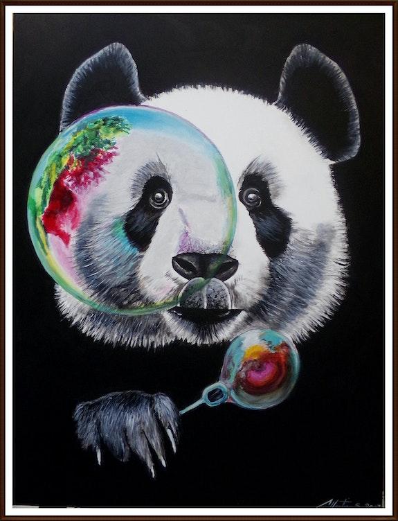 Mr panda fait des bulles. Stephane Chretien Stephane Chretien