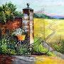 À bicyclette. Gilbert De St Amans