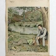 Geoffroy : Le réformé : Heureux les Poilus, ils sont aimés de leur femme. 1915.. Historien d'art, Archéologue; Chercheur Free-L.