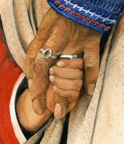 Ta main dans la mienne.