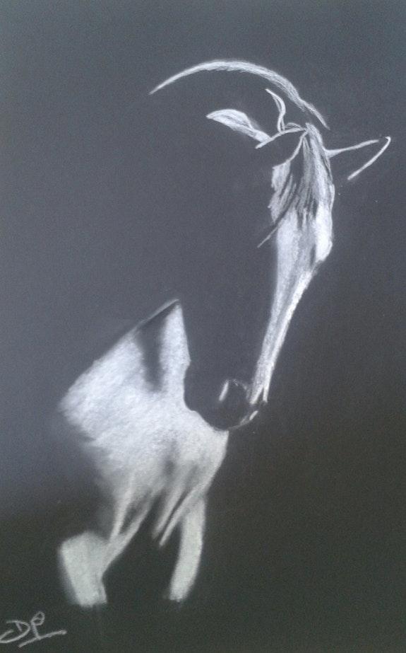 Cheval dans l'ombre. Dominique Prigent Dominique Prigent