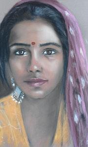 La fille du Rajasthan.