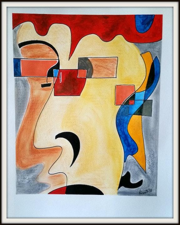 «La cara del druida». Joan Pascuti Joan Pascuti