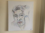 Portrait de Gainsbourg.