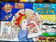 Invacion pizza. Jesus David Salazar Mestizo