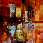 Fire d (série cityscape). Emmanuelle Hildebert