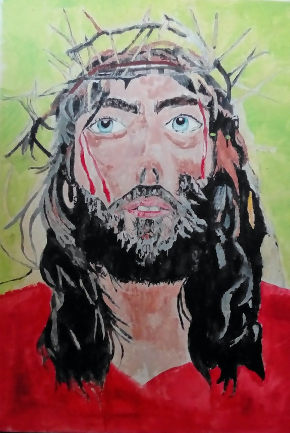 Christ. Portrait Celine Sabouraud