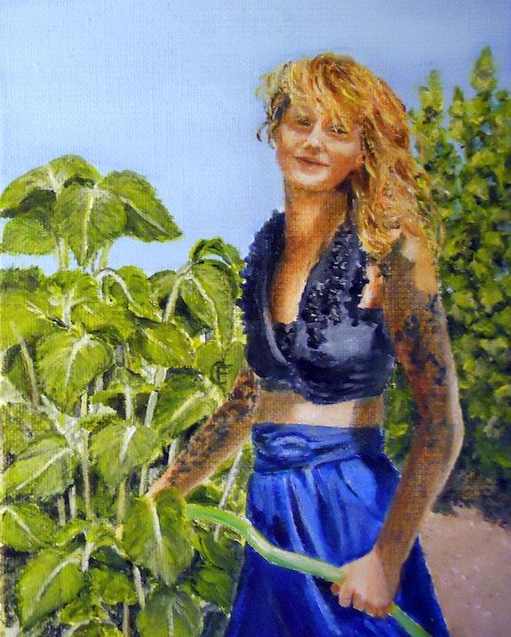 Betsy the gardener. Frany Couvrat Frany Couvrat