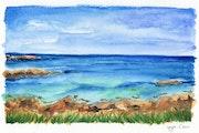 Lanrellec (Watercolor Painting).