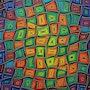 Modern painting : Movements of mixed colors.. Jonathan Pradillon