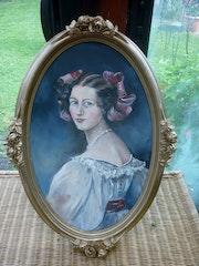 Portrait d'après peintre allemand. Jean Claude Vildé