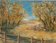 Chemin d automne.