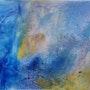 Abstrait I Blue. Patricia Vivier Robert » Pat V »