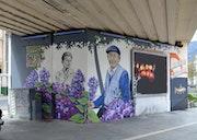 Estacade sncf - Grenoble. Nessé