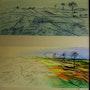 Variaciones sobre un cuadro de Van Gogh. Epoca a mediados años 80. Jaume Genovart Llopis