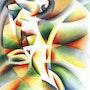 Roundism - 12-10-16. Corné Akkers Kunstwerken