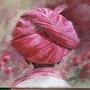 Turban rose. Résy