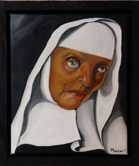 La mère supérieure. Mazzeo Patricia d'après Lempika Artiste Patricia Mazzeo