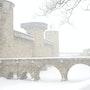 Carcassonne sous la neige - cn18. Thierry Volpi