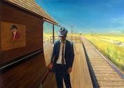 Love in vain (2008) (sold). Corné Akkers Kunstwerken
