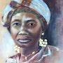 Femme africaine. Résy
