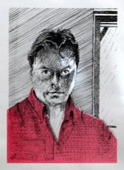 Self Portrait (2004). Corné Akkers Kunstwerken