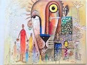 Vision de femme…. Artiste Peintre