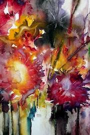 Des fleurs.. Bernard Courtalon