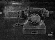 Teléfono 40's.