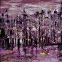 Purple city. Emmanuelle Hildebert