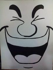 Sourire. Thierry Sounouvou