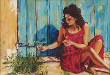 La femme en rose. Jean Dreano