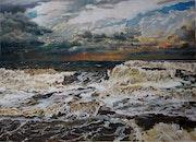 La tempête. Abderrahmane Chaouane