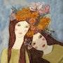 Les deux soeurs aux couleurs automnales. Anne. B