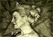 Queen Maxima - 17-10-14. Corné Akkers Kunstwerken