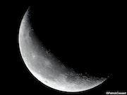 Croissant de lune.