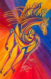 Le cheval de la renaissance. Florence Kiss