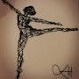 Dancer. Emmanuelle Hildebert
