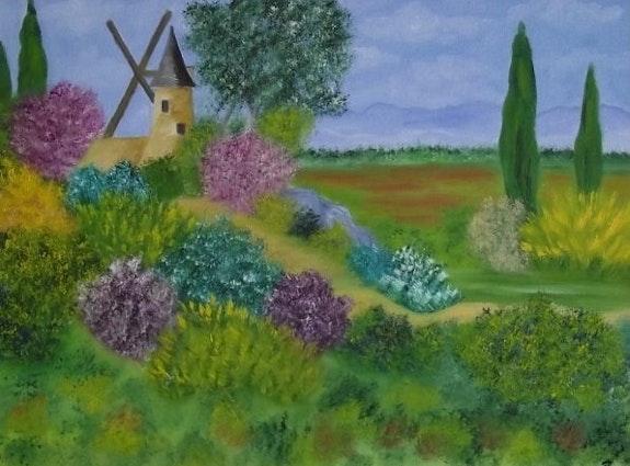 Le moulin. Gerard Flohic Gerard Flohic