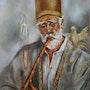 L'homme à la flûte. Nadine Sarrazit