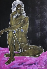 Desnudo. Jorge Vaca