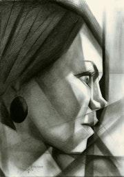 Julia Filament - 01-02-16 (sold). Corné Akkers Kunstwerken