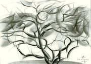 Tree at Voorburg - 21-03-16. Corné Akkers Kunstwerken